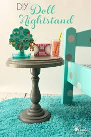diy doll furniture. This Is Such A Cute Diy To Make Doll Sized Nightstand. Perfect Craft Furniture R