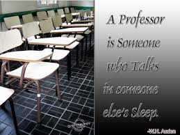 Funny Quotes About College Professors