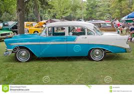 1956 Chevrolet Belair 4-door Hardtop Editorial Photography - Image ...