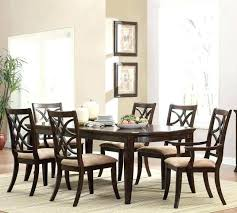 dark wood and glass dining table glass top wood frame dining table