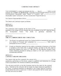 Work Contract Template Contract Termination Letter Template Free ...