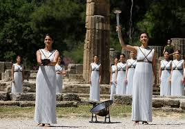 flame lighting olympics. the ancient ritual of lighting olympic flame takes place in olympia greece before games | pinterest flame, olympics t