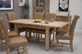 ... Opus Oak Furniture Extending Table chairs ...