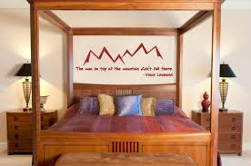 man on mountain wall decal trading