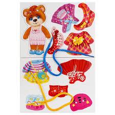 Настольная игра-<b>шнуровка</b> Одень Мишку от <b>Умка</b> ...
