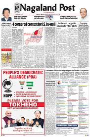 March 25 2019 By Nagaland Post Issuu