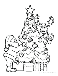 Collection Of Preschool Printable Christmas Coloring Pages Color For