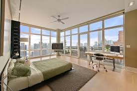 new york apartment bedroom ideas. new-york-city-penthouse-bedroom-with-amazing-views.jpg 900×600 pixels   new york apartment pinterest floating bed frame, brown carpet and bedroom ideas r