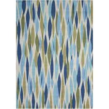 bits and pieces seaglass 8 ft x 11 ft area rug