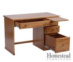 captivating student computer desk custom built hardwood furniture homestead furniture made in usa