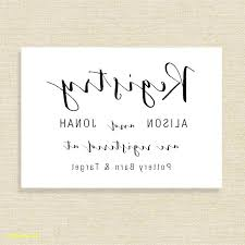 Wedding Insert Templates Wedding Gift Card Template Thank You Note Registry Bridal Free
