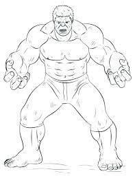 Hulk Coloring Pages To Print Free Free Hulk Coloring Pages Hulk