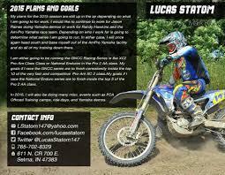 Sponsorship Resume 24 Lucas Statom Sponsorship Resume 24