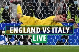 England Vs Italy LIVE: Follow ALL The ...