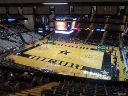 Vanderbilt Memorial Gym Seating Chart Memorial Gymnasium Section 3a Rateyourseats Com