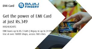how to apply bajaj finserv emi card