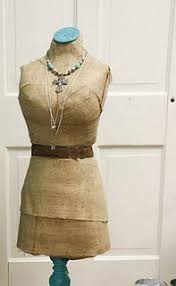 burlap dress form make your own dress form with chicken wire and burlap looks great