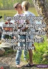 Making fun of gay
