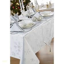 Christmas Snowflake White & Silver Tablecloth Sets