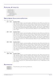 Resume Examples: 47 Latex Resume Templates Latex Document Template ...