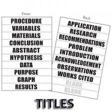 science fair display board templates science fair project display boards headers title tags