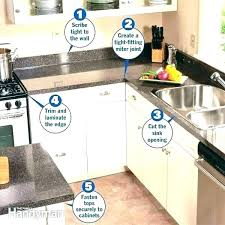 replace countertop without replacing cabinets install a kitchen