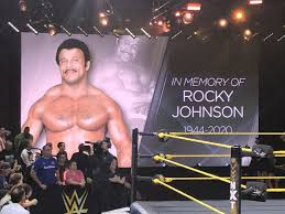 The wrestling world mourns the death of Rocky Johnson ...