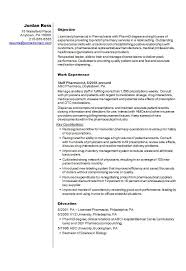 Ambulatory Care Pharmacist Sample Resume Amazing Gallery Of Pharmacist Cv R Sum Template Example How To Write A Cv