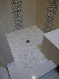 bathroom mosaic tile wall with cozy daltile floor and linear design ideas designs small bathroom