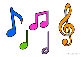 Sagome note musicali | Note musicali, Spartiti musicali, Musical