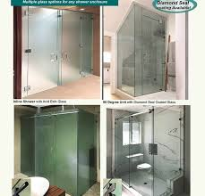 create a beautiful shower bath with prl s shower glass types