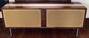Mid Century Modern Speaker from 90s Road Trash