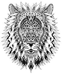 Fantasie Leeuw Kleurplaten Tattoos Lion Tattoo En Lion Art