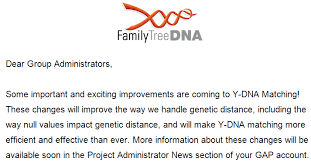 Genetic Family Tree Y Dna Match Changes At Family Tree Dna Affect Genetic Distance