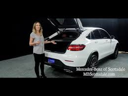 Count on exceptional service & selection. Sleek And Sporty The 2018 Mercedes Benz Glc 300 4matic Coupe From Mercedes Benz Of Scottsdale Youtube