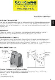 Everflo Oxygen Concentrator Yellow Light Everflo Everflo Q En De Dsf 4 16 08 Pdf Free Download