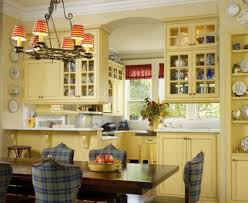 Country Kitchen Gallery Country Kitchen Light Fixtures Love The Wood Trim Built In And