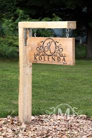 Wood Address Signs Outdoor Decor Outdoor Address SignCustom Yard SignCustom Home SignCustom 9