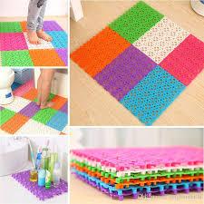 plastic bathroom carpet splice non slip kitchen rugs solid bathroom shower rugs and carpets puzzle floor drain water mat bath mats bathroom shower rugs