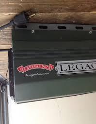 legacy 1 2 hp model 696cd b garage door opener