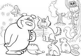 Imprimer Animaux Animaux Carnivores Num Ro 64670 Coloriage Animaux De La Foret L