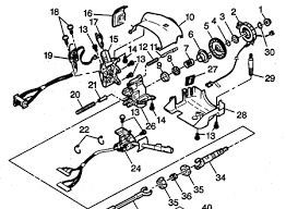 steering wheel assembly diagram for chevy astro van not lossing 04 mustang v6 engine diagram 04 mustang mach 1 engine