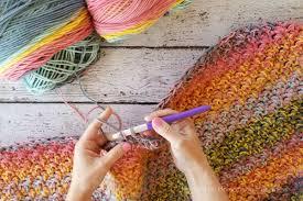 Crochet Blanket Pattern Interesting Color Kaleidoscope Crochet Blanket Pattern Hooked On Homemade