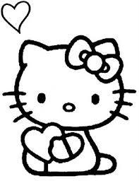 Disegni Da Colorare Di Hello Kitty