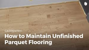 how to maintain unfinished wood flooring diy projects