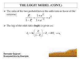 Logit Model The Logit And Probit Models Ppt Download