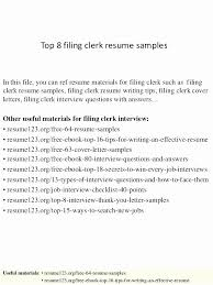 Court Clerk Resume Objective Examples A Good Resume Example