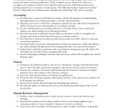 Resume Objective For Internship Internship Resume Objectivemple Accounting Examples Legal Summer 93