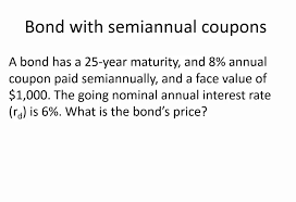 Pv Of Semiannual Coupon Bonds In Excel Youtube