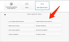 Icloud Security Code What To Do When You Forget The Answers To Your Apple Id